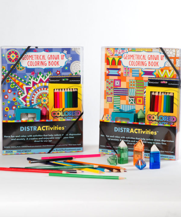 distractivities set | thoughtful gifts for cancer patients | Rock the Treatment