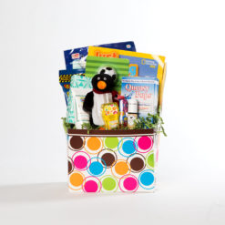 boys small basket | thoughtful gifts for cancer patients | Rock the Treatment