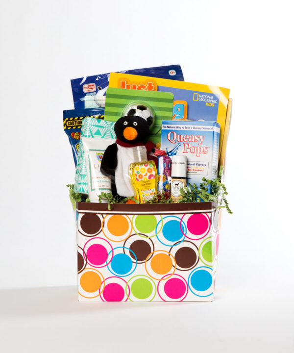 boys small basket   thoughtful gifts for cancer patients   Rock the Treatment