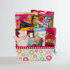 girls large basket | thoughtful gifts for cancer patients | Rock the Treatment