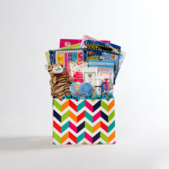 girls small basket | thoughtful gifts for cancer patients | Rock the Treatment