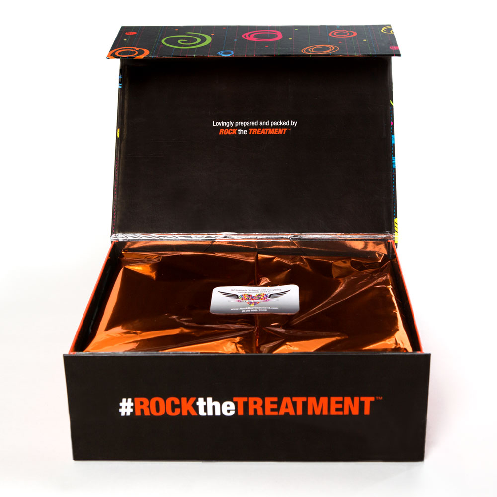medium gift box | thoughtful gifts for cancer patients | Rock the Treatment