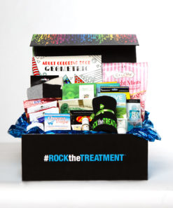 men's large chemo basket | thoughtful gifts for cancer patients | Rock the Treatment