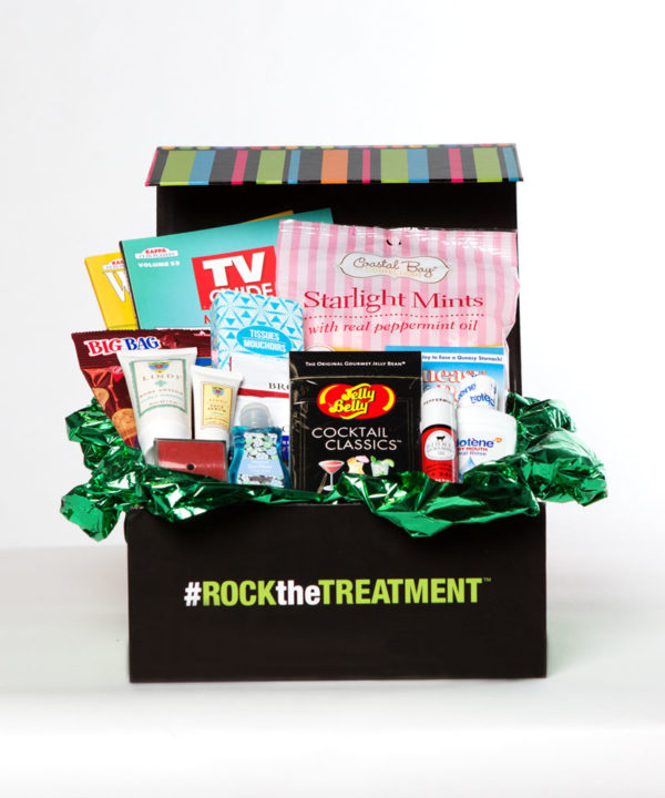 men's small gift box | thoughtful gifts for cancer patients | Rock the Treatment