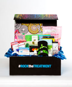 women's large chemo basket | thoughtful gifts for cancer patients | Rock the Treatment