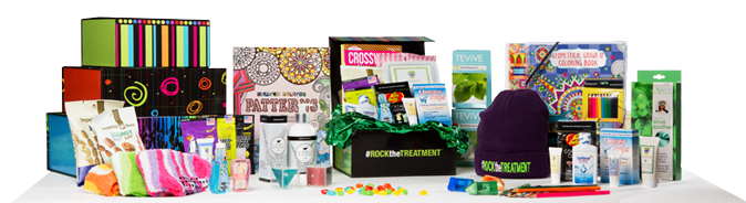 RTT products | gift basket for radiation patients